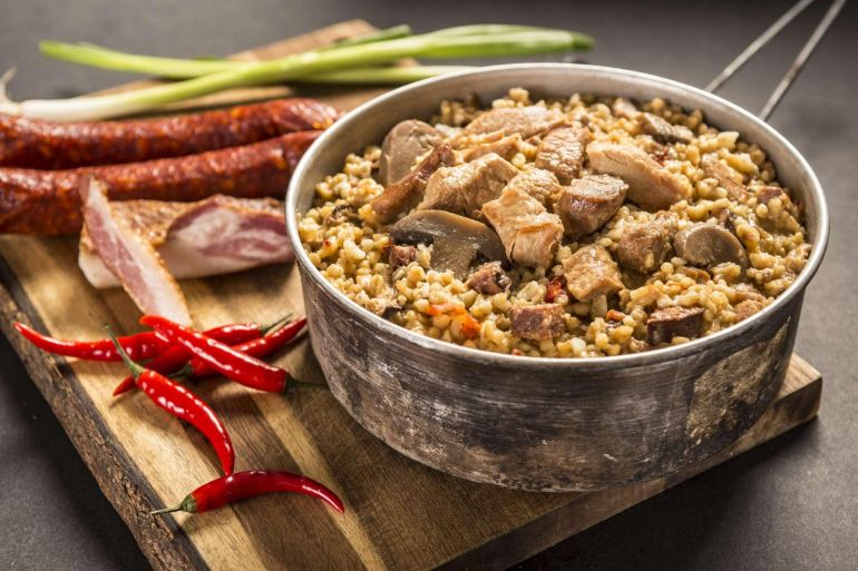 adventure menu picant meat mix