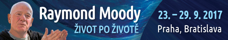 Raymond Moody v Praze 2017