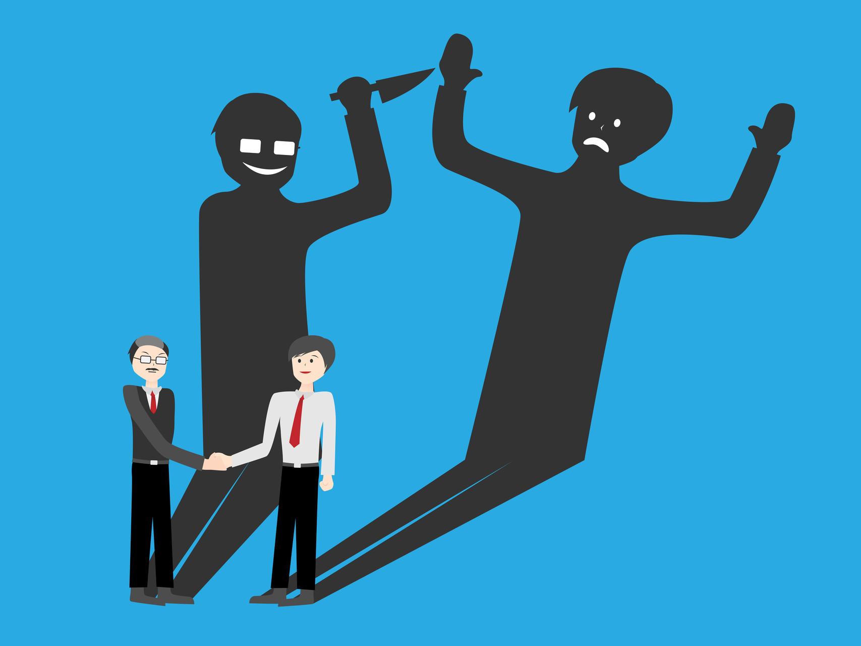 Psychopatie postihuje nejen lidi, ale i organizace