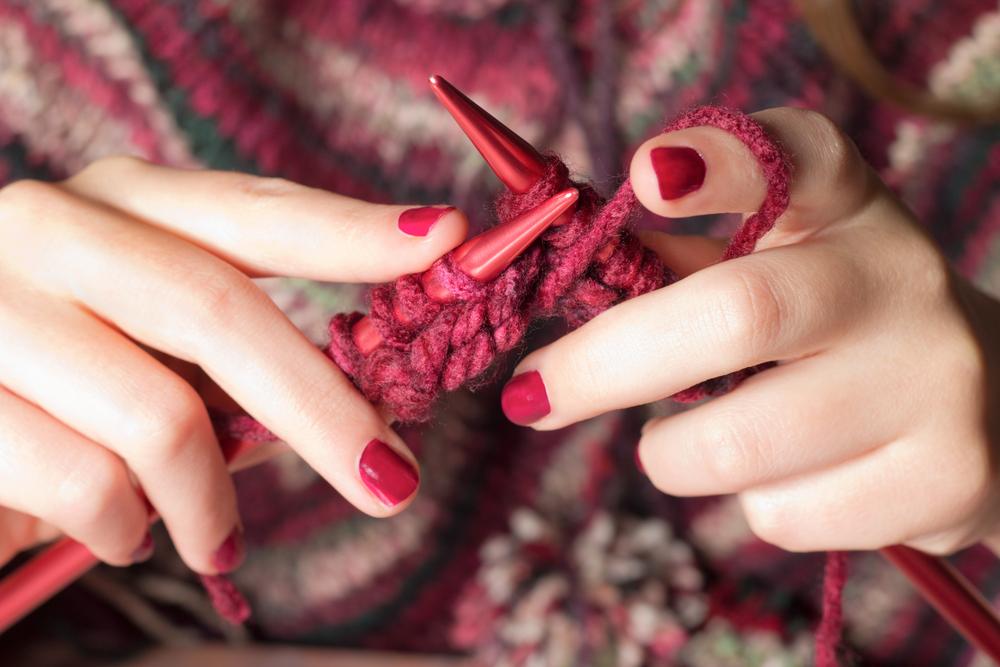 Pletení pomáhá udržet duševní rovnováhu