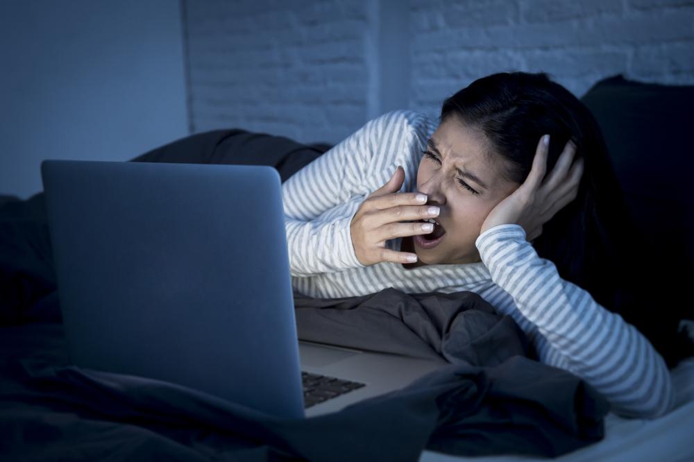 Vysokorychlostní internet může způsobit problémy se spánkem