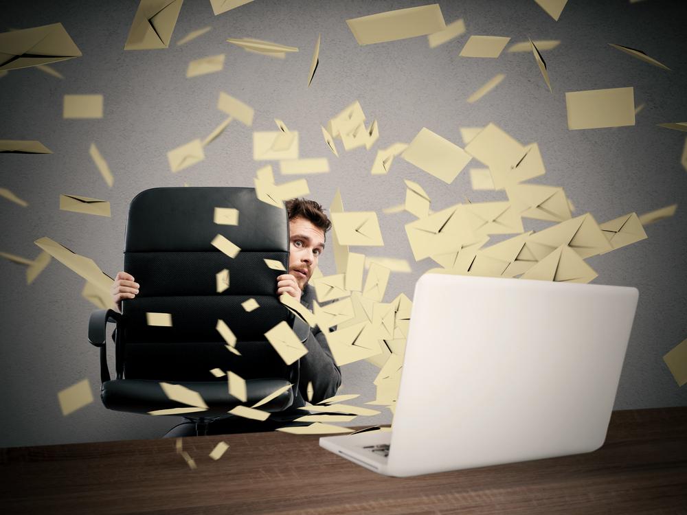 Jak nezešílet z toho, že se nepřečtených emailů už nikdy nezbavíte