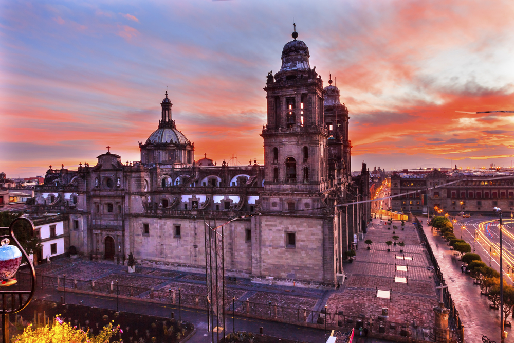 mexico city shutterstock 245778217