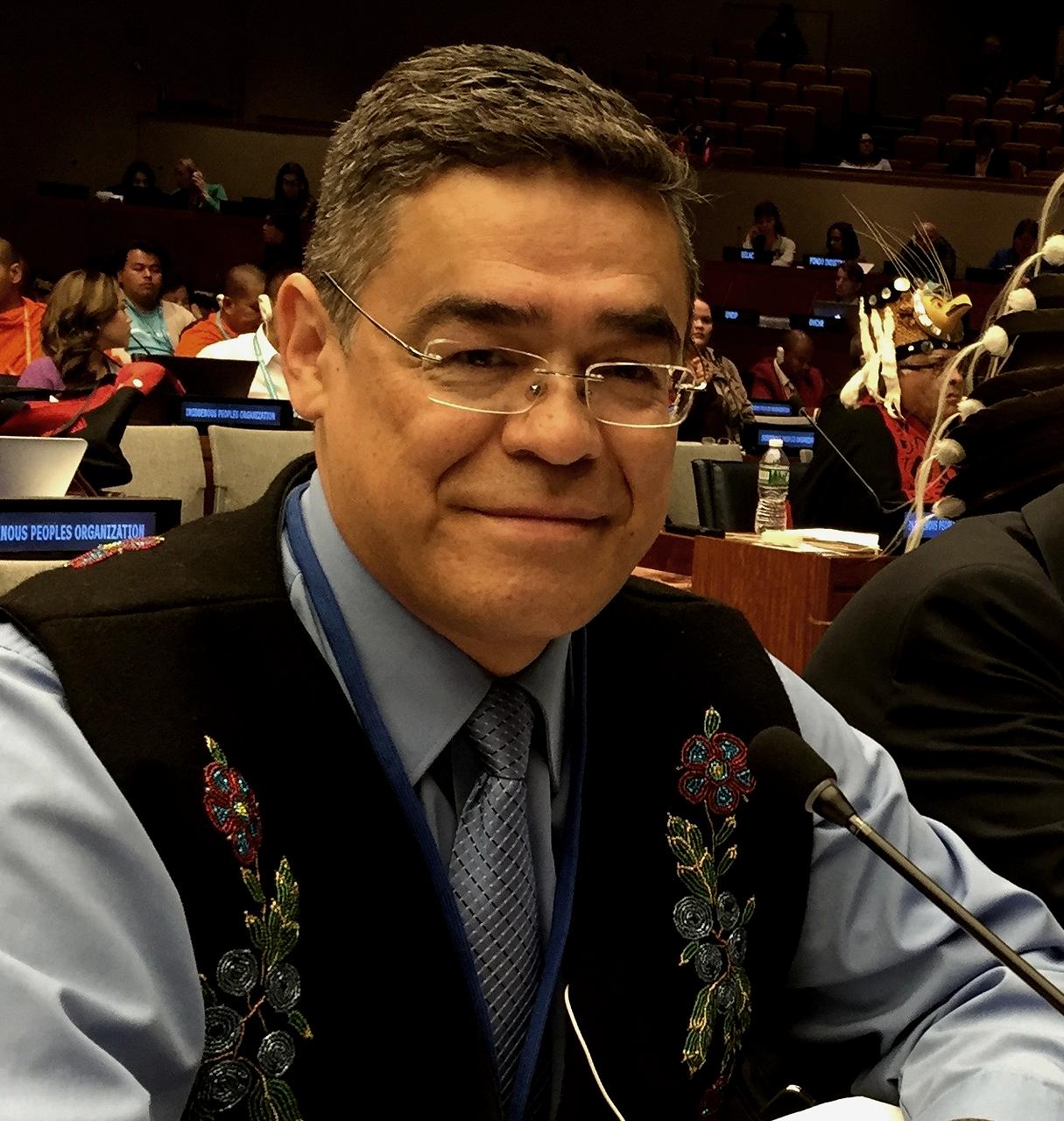 Nejdůležitější je umět odpouštět, říká advokát kanadských indiánů
