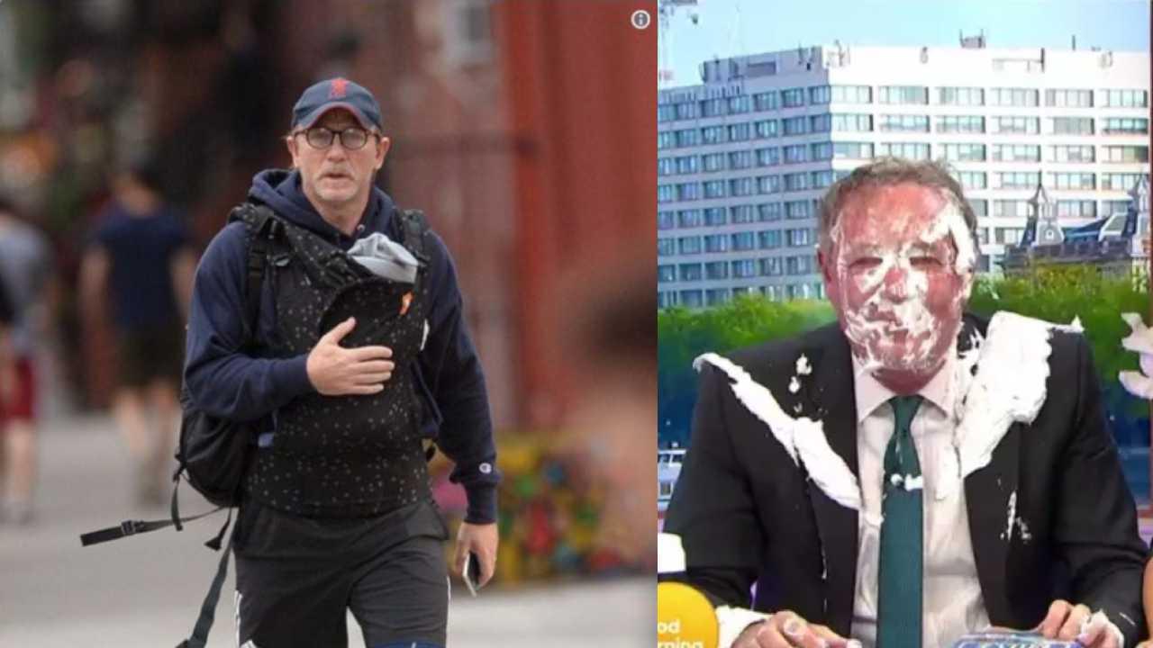 Piers Morgan se vysmál Danielu Craigovi kvůli nosítku na dítě. A Twitter se vysmál Piersu Morganovi.